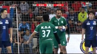 ハンドボール アジア選手権 3位決定戦 日本vsサウジアラビア 前半