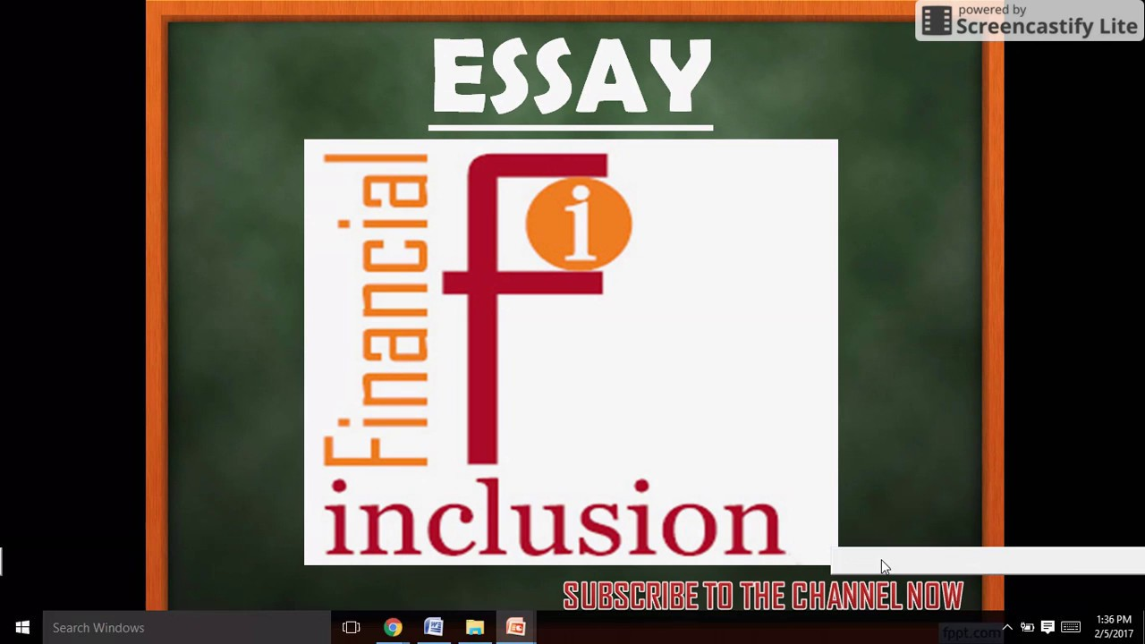 essay on financial inclusion ssc cgl tier iii  essay on financial inclusion ssc cgl tier iii