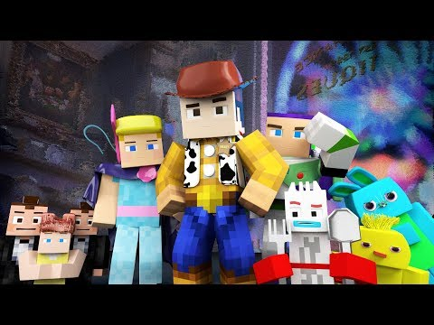 Toy Story 4 Trailer Minecraft Animation