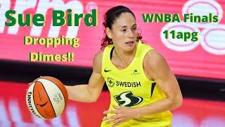 Sue Bird WNBA Finals Point Guard Highlights | 11apg