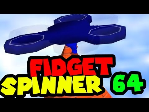FIDGET SPINNER 64! best mario 64 ROM hack ever.