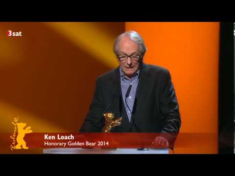 Ken Loach Berlinale 2014 Honorary Golden Bear Award speech