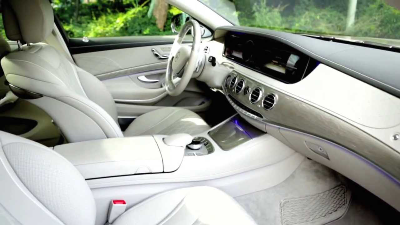 2014 S Class Burmester High End 3d Surround Sound System