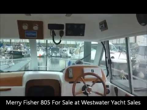 Jeanneau Merry Fisher 805 For Sale At WestwaterYachtSales.com