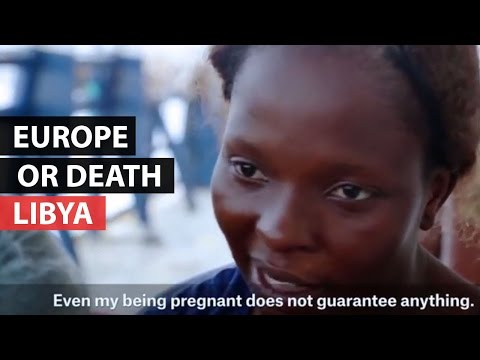 REFUGEE CRISIS | Fleeing to Europe from violence in Libya