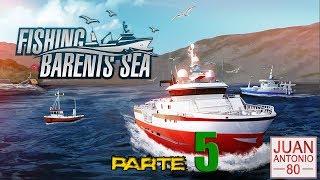Fishing: Barents Sea | Parte 5 PePa fisher En Español y nuevo barco