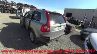 2004 Volvo XC90 Parts For Sale - 1 Year Warranty