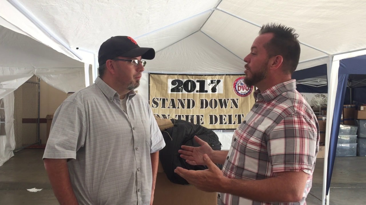 "East County.net Mike Burkholder Interview ""Stand Down on the Delta 2017"""