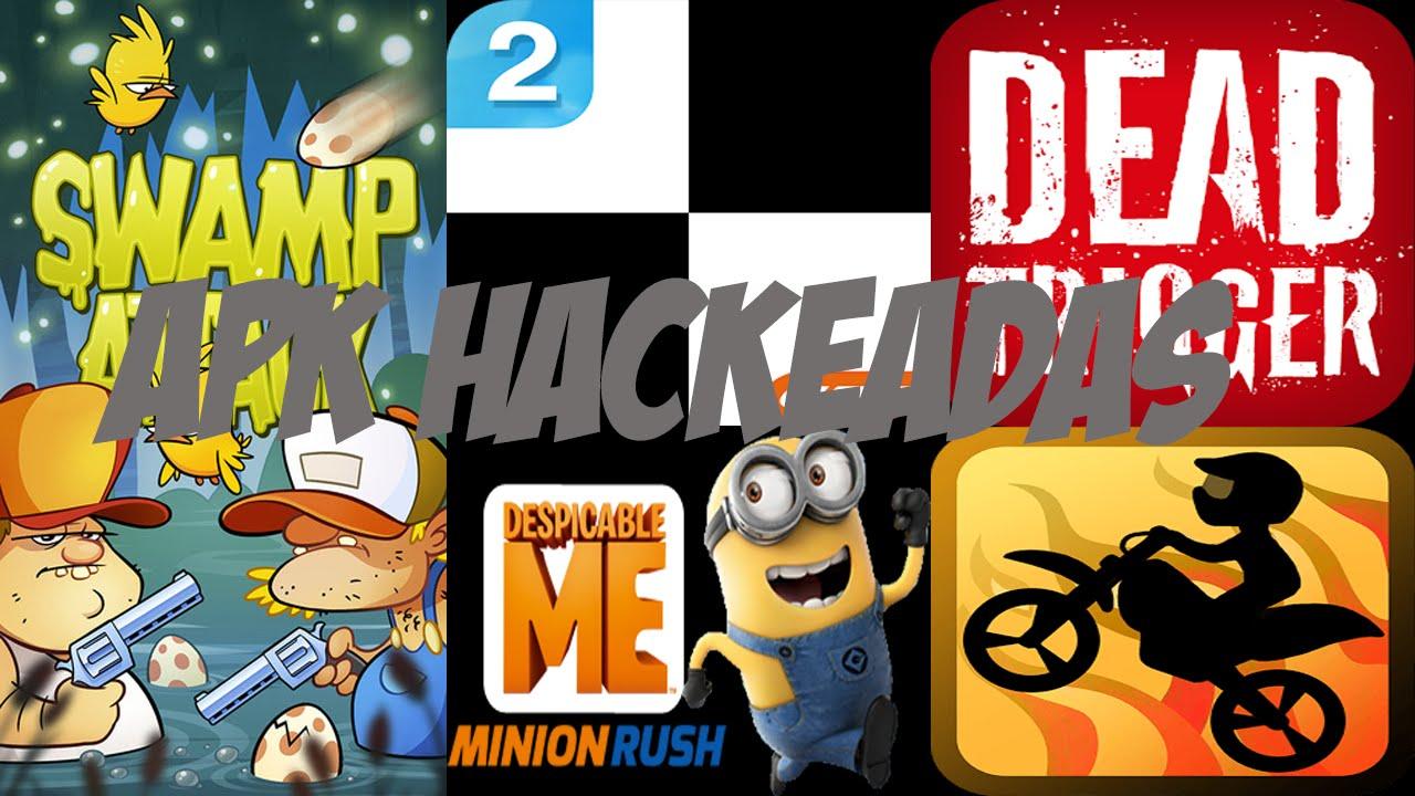 Apk De Juegos Hackeados Youtube