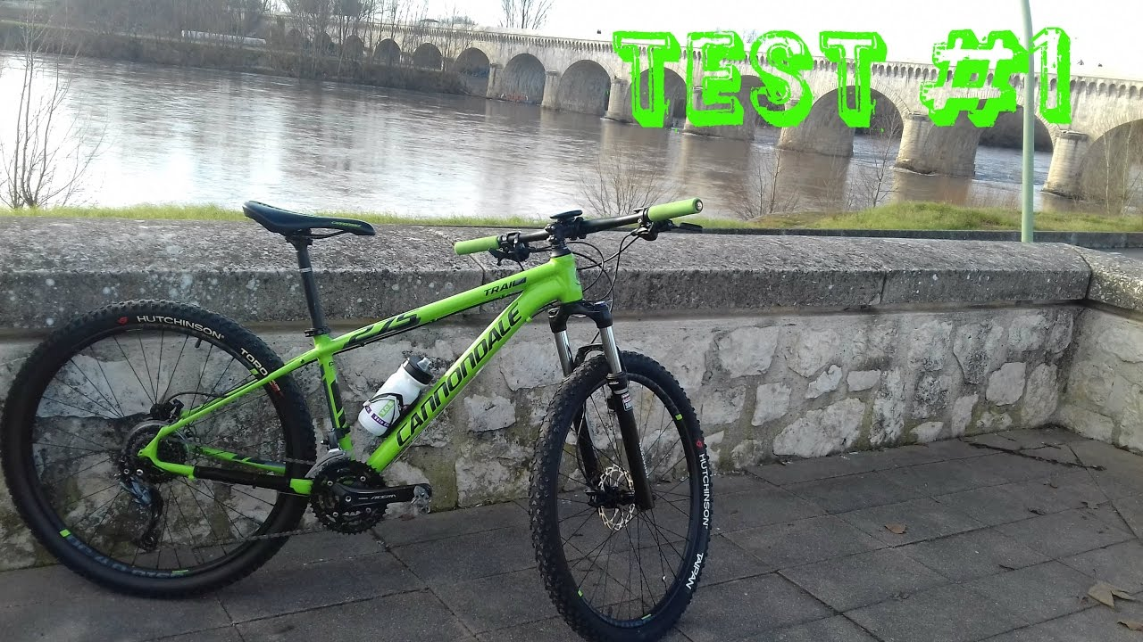 94489fe875a TEST #1: Cannondale trail 2016 - YouTube