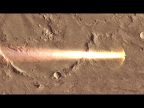Schiaparelli's descent to Mars in real time
