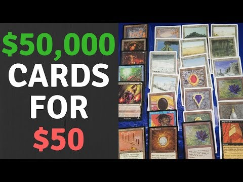 🔥🔥🔥$50,000 IN MAGIC CARDS FOR $50 🔥🔥🔥