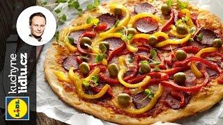 Pizza se šunkou a salámem - Marcel Ihnačák - RECEPTY KUCHYNE LIDLU