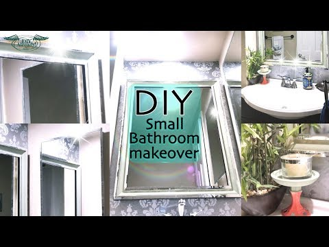 How To Renovate A Small Bathroom | NO Construction tool | Great Home Ideas