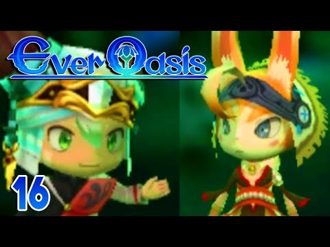 Ever Oasis Part 16 THE MISSING SEAL!  Gameplay Walkthrough