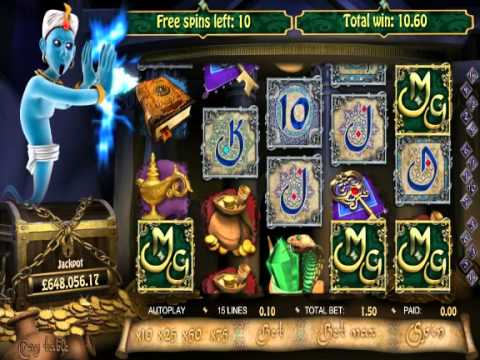 Millionaire Genie - Slot Game Feature - Scatter Free Spins - YouTube