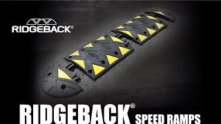 Ridgeback™ Speed Ramp - How to install instructions