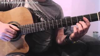 Clocks Go Forward - James Bay (Guitar lesson/Tutorial) with Ste Shaw