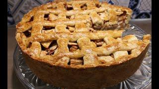 Голландский яблочный пирог по старому рецепту