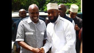 MOI MEETS JOHO: Senator Gideon Moi visits Governor Joho in Mombasa County