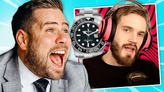 Watch Expert Reacts To YouTuber's Luxury Watches