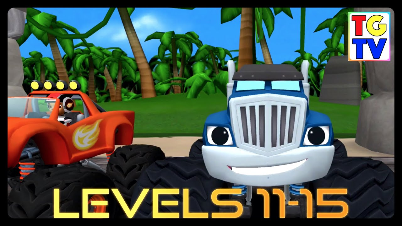 Blaze And The Monster Machines Games Dragon Island