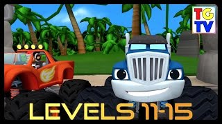 Blaze and the Monster Machines - Dragon Island 11-15