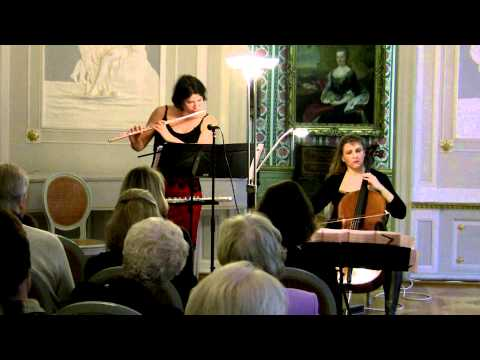 Olga Magidenko: Duo for Flutes (Barbara Rosnitschek) and Cello (Dorothea von Albrecht)