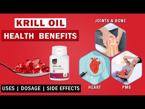 Vestige Krill Oil Benefits In Hindi [krill Oil], Krill Oil Vs Fish Oil | Uses, Dosage, Side Effects