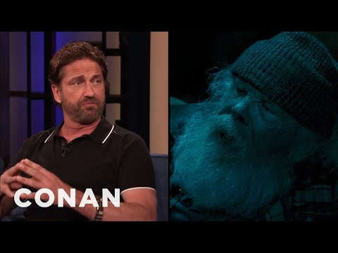 """Gerard Butler On Nick Nolte Playing His Dad In  """"Angel Has Fallen"""" - CONAN on TBS"""