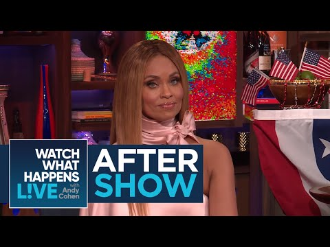 After : Gizelle Bryant On Robyn Dixon And Juan Dixon's Relationship  RHOP  WWHL