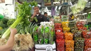 Рынок в Нетании, Израиль.(Рай сыроеда и вегана в Израиле. Множество свежайших прекрасных продуктов. Минус один - дорого., 2016-04-26T17:18:20.000Z)