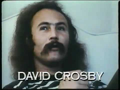 David Crosby - Waxing Poetic on PsychoBabble - 1970