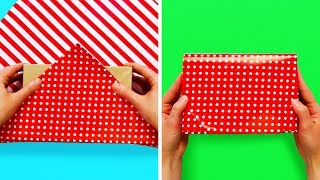15 EASY GIFT-WRAPPING TRICKS