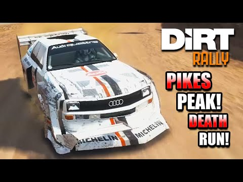 Dirt Rally: PIKES PEAK DEATH RUN! (Audi Quattro S1)