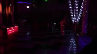 Тематический женский стриптиз. Танцевальный номер от Пантеры. Стриптиз Ночной Клуб Москва.
