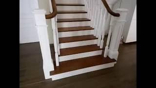 Лестница в частном доме. Американский стиль.(, 2016-09-03T12:50:41.000Z)