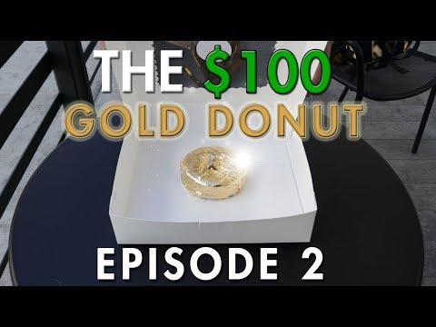 $100 GOLD DONUT   - Birdies (Coffee, Donuts, Chicken)    EP. 2   Mihran Kirakosian