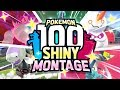 100 EPIC SHINY POKEMON REACTIONS! Pokemon Sword and Shield Shiny Montage