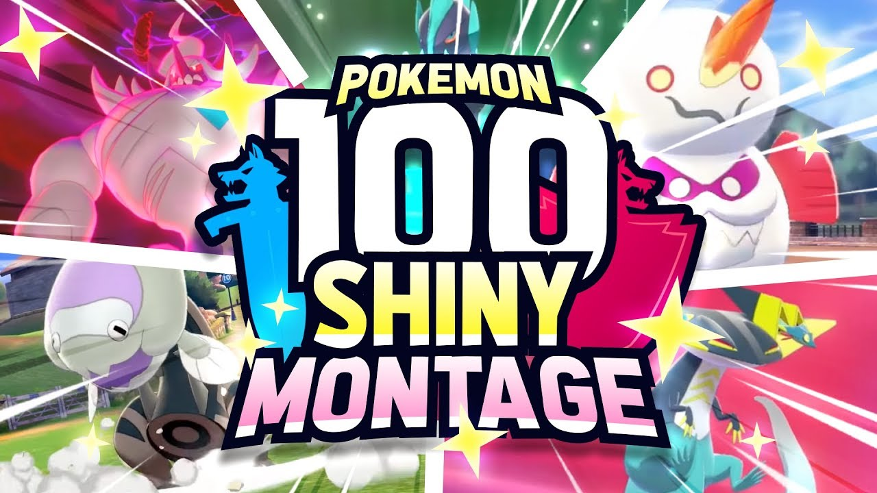 100 EPIC SHINY POKEMON REACTIONS! Pokemon Sword and Shield Shiny Montage
