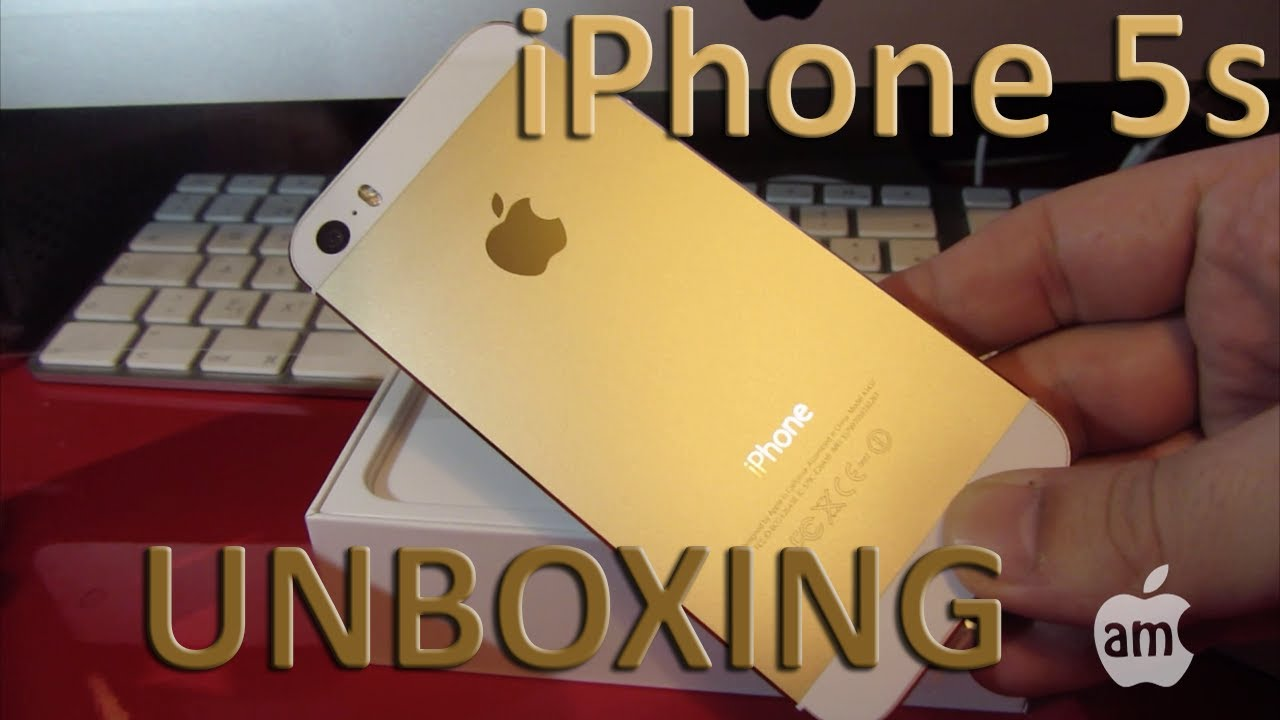 Unboxing HD iPhone 5s Gold Libre 16GB - YouTubeIphone 5s Champagne Gold Unboxing