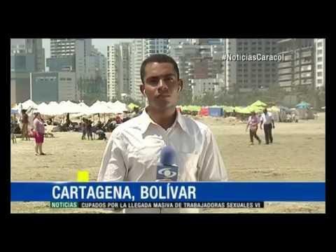 TEMPORADA DE VACACIONES EN CARTAGENA - CARACOL TV