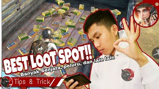 Ini dia Best Loot Area, banyak senjata - Rules Of Survival Mobile