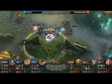 FINAL ELITE 8 VS T30 REVOLUTION Game 1 | Vainglory Indonesia Games Championship 2017