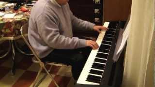 Laura Pausini: Viaggio con te - piano cover - versione 1