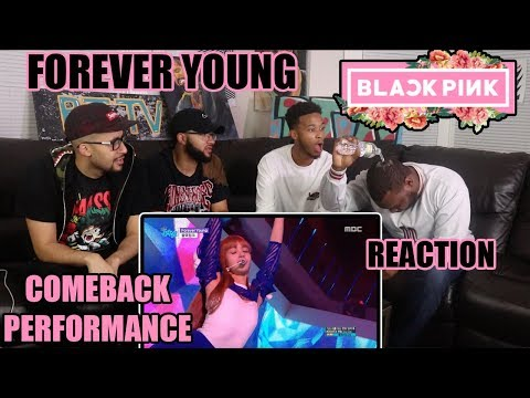 BLACKPINK 블랙핑크 - FOREVER YOUNG [Comeback Stage] REACTION/REVIEW