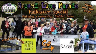 Second Line Parade with the Big Easy Easton Brass - October 25th, 2019