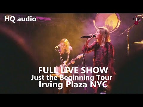 Grace VanderWaal FULL SHOW Just the Beginning Tour HQ audio  Irving Plaza New York City  11/13/17