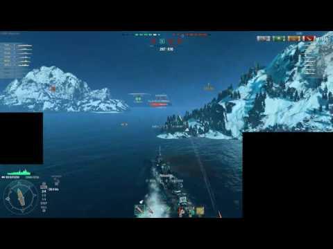 [ENG] World of Warships - Supremacy League - Old Ironsides vs Fleet of Fog