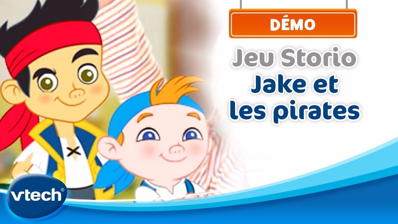 Jake et les Pirates : Démo Jeu Storio | VTech - YouTube